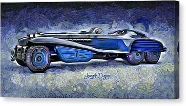 Hydra Schmidt Coupe Canvas Print by Leonardo Digenio