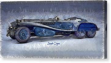 Copies Canvas Print - Hydra Schmidt Coupe  - Pencil Style -  - Da by Leonardo Digenio