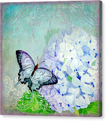 Hydrangea Dreams Canvas Print by Audrey Jeanne Roberts