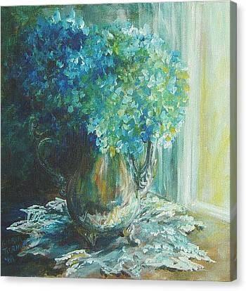 Hydrangea Sold Canvas Print