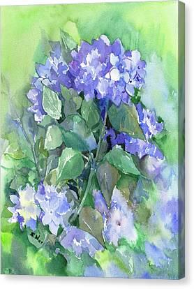 Hydrangea Canvas Print by Suren Nersisyan