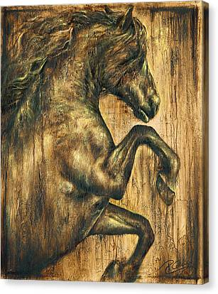 Hymne Canvas Print by Paula Collewijn -  The Art of Horses