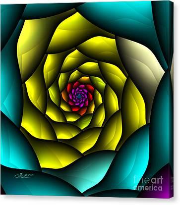 Hypnosis Canvas Print by Jutta Maria Pusl