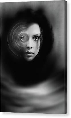 Hypnosis   Canvas Print by Mayumi Yoshimaru
