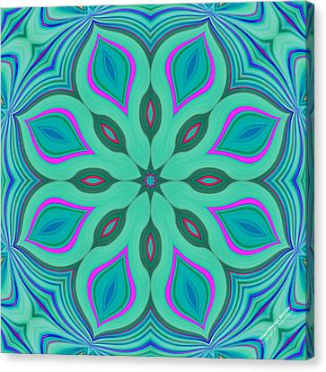 Hypnotherapy 2231k8 Canvas Print by Brian Gryphon