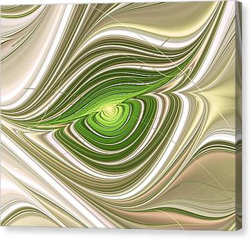 Hypnotic Eye Canvas Print