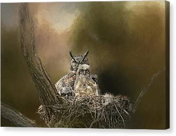Canvas Print featuring the photograph Hypnotized by Donna Kennedy