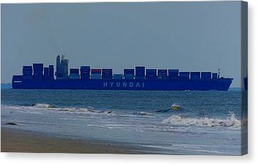 Hyundai Ship Canvas Print