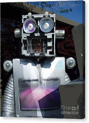 I - Robot Canvas Print by Bill Thomson