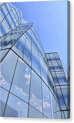 Canvas Print - I A C Building # 5 - Sculpture Or Building Or Both by Allen Beatty