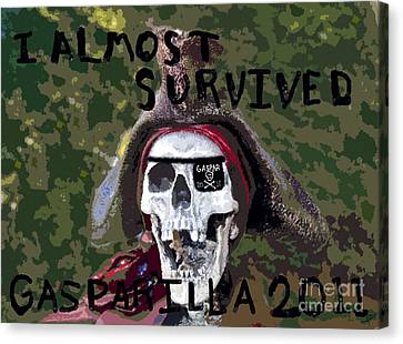 I Almost Survived Canvas Print by David Lee Thompson