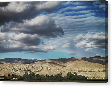 I Almost Touched The Clouds Canvas Print