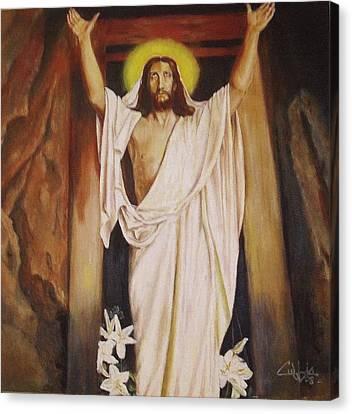 I Am Alive Canvas Print by G Cuffia