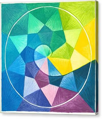 I Am Celebrating Canvas Print by Ulla Mentzel