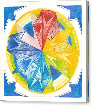 I Am Forgiveness Canvas Print by Ulla Mentzel