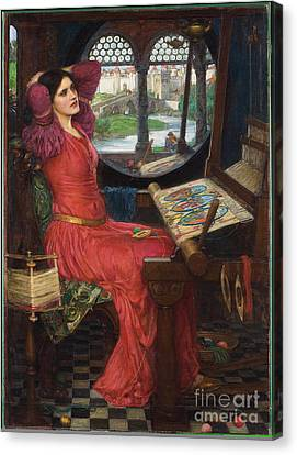 I Am Half-sick Of Shadows, Said The Lady Of Shalott Canvas Print