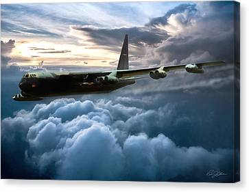 I Am Legend B-52 Canvas Print by Peter Chilelli