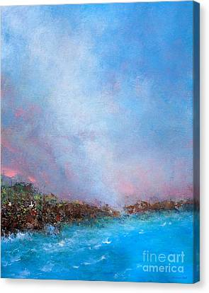 Attune Canvas Print - Out Of The Blue by Korrine Holt