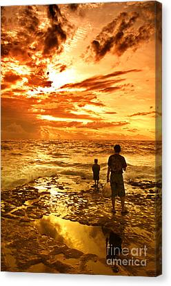 I Am Not Alone Canvas Print by Charuhas Images