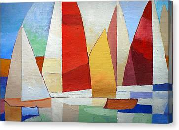 I Am Sailing X L Canvas Print by Lutz Baar