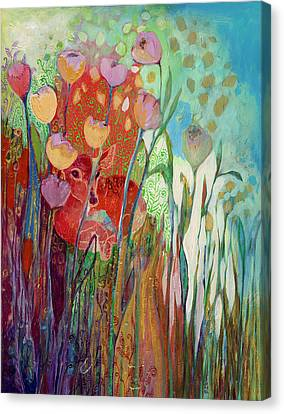 I Am The Grassy Meadow Canvas Print by Jennifer Lommers