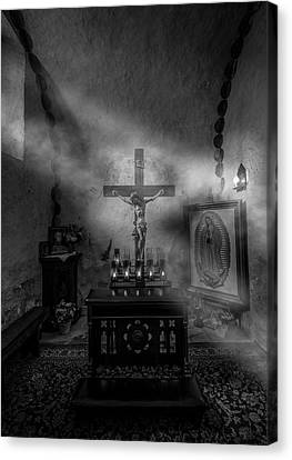 Canvas Print featuring the photograph I Am The Light Of The World by David Morefield