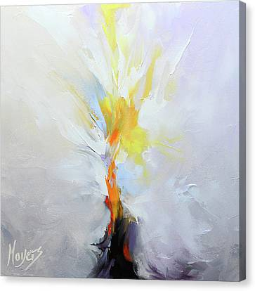 I Am The Resurrection Canvas Print by Mike Moyers