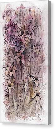 I Am The Rose Canvas Print