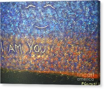 I Am You Canvas Print by Piercarla Garusi