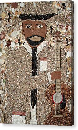 I Can Play The Blues Canvas Print by Ben Sivells
