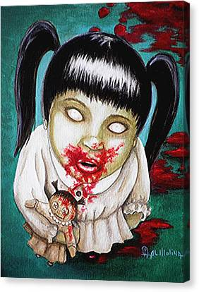 I Didn't Do It Canvas Print by Al  Molina