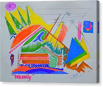I Dig Vassily Canvas Print
