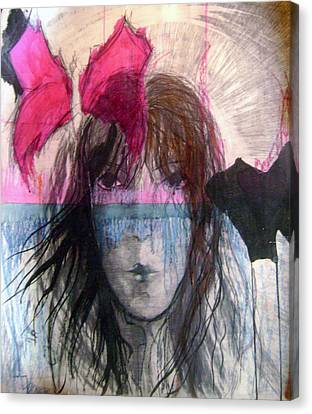 I Have In Head Confusion  Canvas Print by Wojtek Kowalski