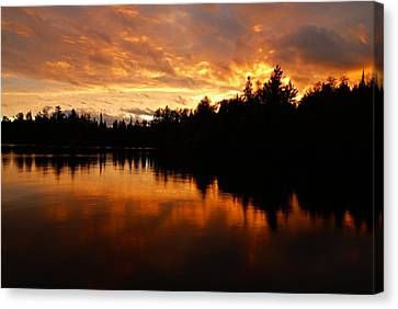 I Have Seen Stormy Days That I Thought Would Never End Canvas Print by Larry Ricker