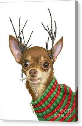 I Is Ready Fer Christmas Canvas Print