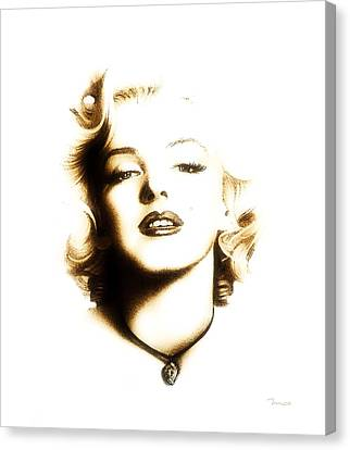 Beauty Mark Canvas Print - I Just Want To Be Wonderful by Mark Taylor