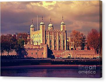 I Left My Heart At Traitors Gate Canvas Print