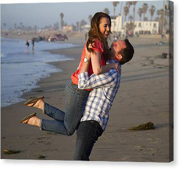 Canvas Print featuring the photograph I Lift You Up by Nathan Rupert