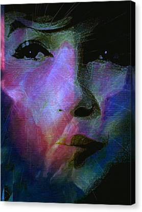 I Liked You Because You Were Kind. Canvas Print by Michele Carter