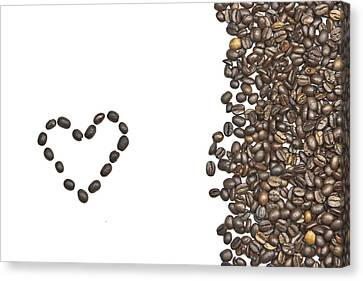 I Love Coffee Canvas Print by Joana Kruse