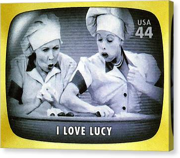 I Love Lucy Canvas Print by Lanjee Chee