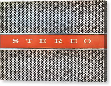 I Love Stereo Canvas Print