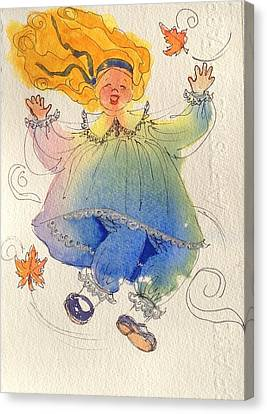 Canvas Print - I Love The Wind by Marilyn Jacobson