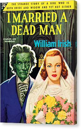 I Married A Dead Man Canvas Print