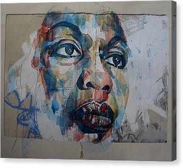 Songwriter Canvas Print - I Put A Spell On You - Nina Simone  by Paul Lovering