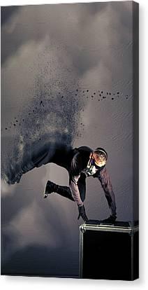 James Canvas Print - I - S P Y by Nichola Denny