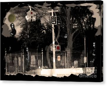 I See Dead People Canvas Print by Madeline Ellis