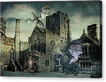 I See Dragons Canvas Print by Terri Waters