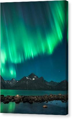 Curtain Canvas Print - I See Fire by Tor-Ivar Naess