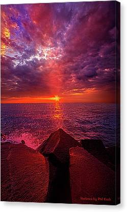 Canvas Print featuring the photograph I Still Believe In What Could Be by Phil Koch